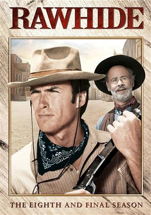 Rawhide - Season 8 - The Final Season (b/w, 4 DVDs)