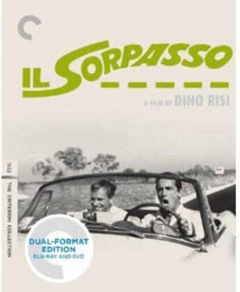 Il sorpasso (1962) (Criterion Collection, Blu-ray + DVD)