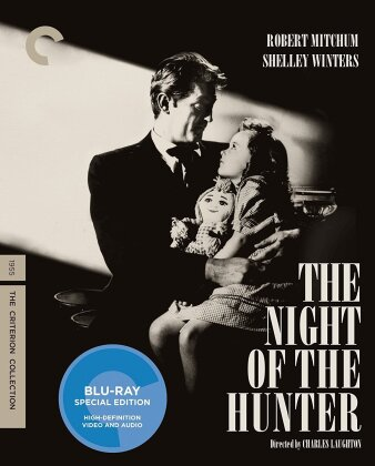 The Night of the Hunter - (with DVD) (1955) (n/b, Criterion Collection)