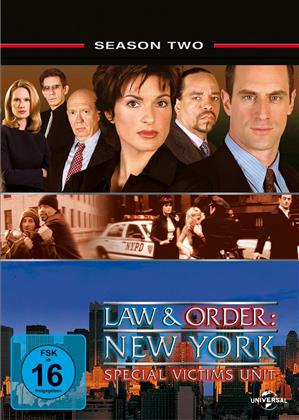 Law & Order - Special Victims Unit - Staffel 2 (5 DVDs)