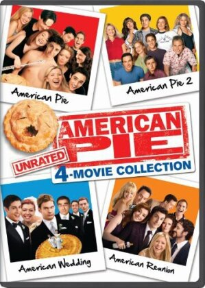 American Pie 4-Movie Collection - American Pie 1 & 2 / American Wedding / American Reunion (Unrated)