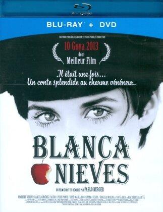Blancanieves (2012) (s/w, Blu-ray + DVD)