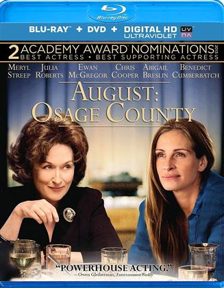 August: Osage County (2013) (Blu-ray + DVD)