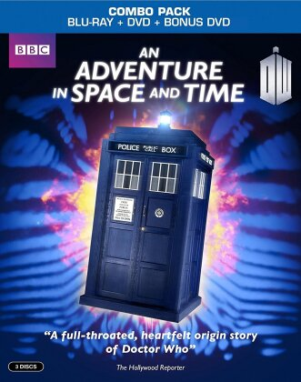 An Adventure in Space and Time (2013) (s/w, Blu-ray + 2 DVDs)