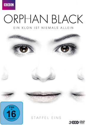 Orphan Black - Staffel 1 (BBC, 3 DVD)