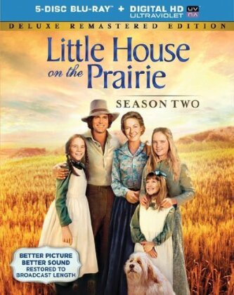 Little House on the Prairie - Season 2 (Deluxe Edition, Versione Rimasterizzata, 5 Blu-ray)