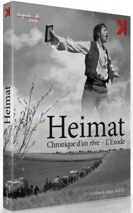Heimat - Chronique d'un rêve - L'Exode (2013) (s/w, 2 DVDs)
