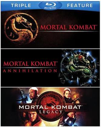Mortal Kombat / Mortal Kombat 2 / Mortal Kombat: Legacy (3 Blu-ray)