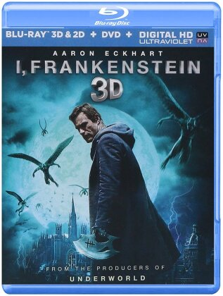 I, Frankenstein (2013) (Blu-ray 3D + Blu-ray + DVD)
