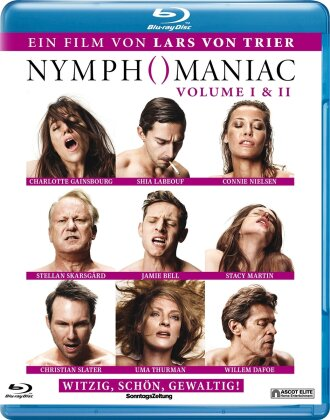 Nymphomaniac - Vol. 1 & 2 (2 Blu-rays)