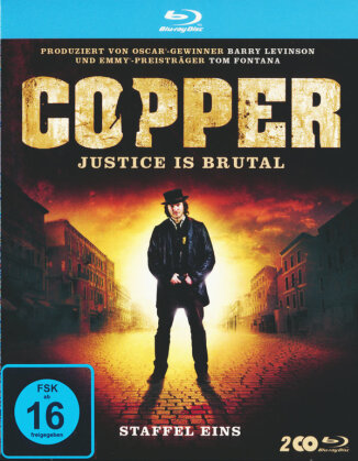 Copper - Justice is brutal - Staffel 1 (3 Blu-rays)