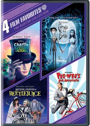 Tim Burton Collection - 4 Film Favorites (4 DVDs)