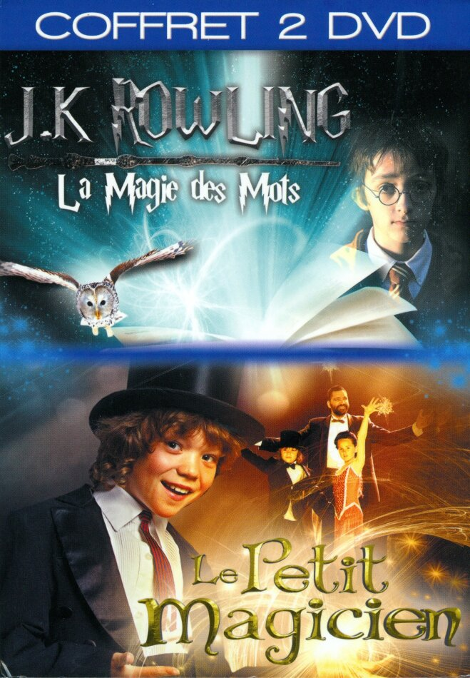 J.K. Rowling - La magie des mots / Le petit magicien (2 DVD)