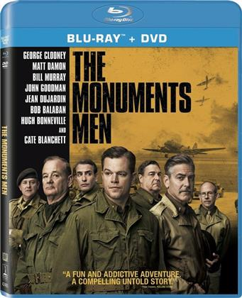 The Monuments Men (2013) (Blu-ray + DVD)