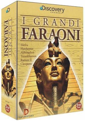 I Grandi Faraoni - (Discovery Channel) (2013) (Box, 3 DVDs)