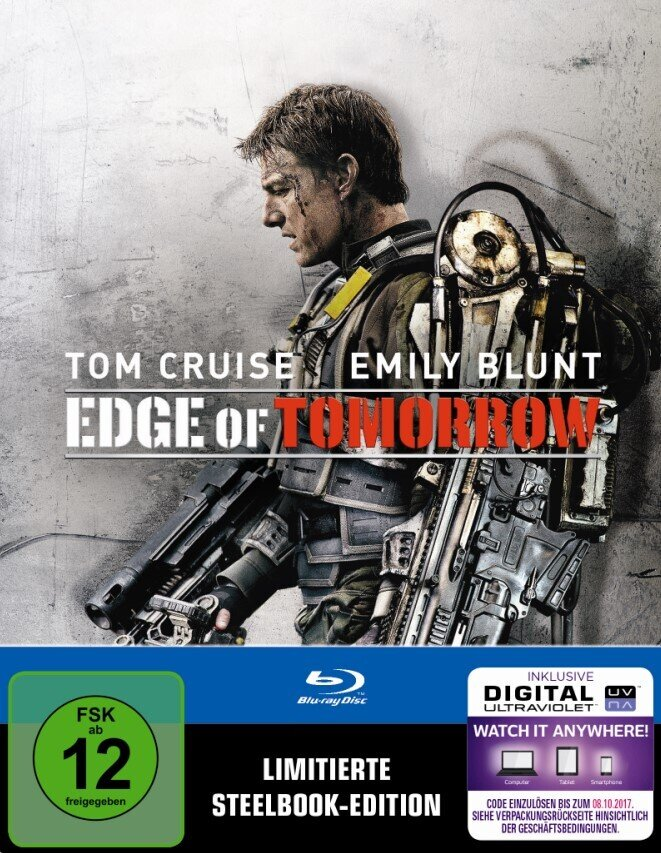 Edge of Tomorrow - Live Die Repeat (2014) (Limited Edition, Steelbook)