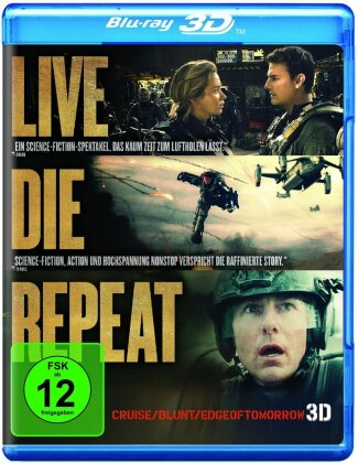 Edge of Tomorrow - Live Die Repeat (2014)