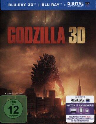 Godzilla (2014) (Blu-ray 3D + Blu-ray)