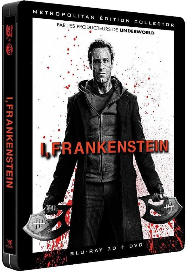 I, Frankenstein (2013) (Steelbook, Blu-ray 3D (+2D) + DVD)