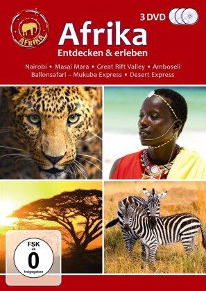 Afrika entdecken und erleben (3 DVDs)