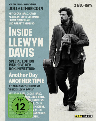 Inside Llewyn Davis - inkl. Doku: Another Day, Another Time (2013) (Mediabook, Special Edition, 2 Blu-rays)
