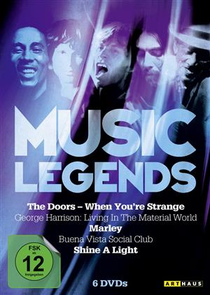 Various Artists - Music Legends (6 DVD)