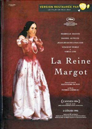 La Reine Margot (1994) (Digibook, Edizione Restaurata, Blu-ray + DVD)