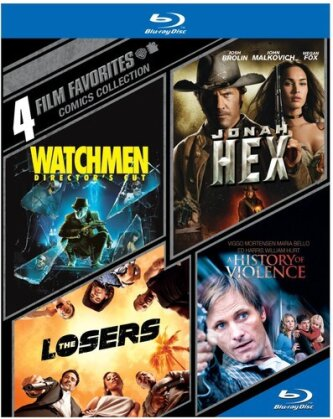 Comics Collection - Watchmen / Jonah Hex / The Losers / A History Of Violence (4 Film Favorites - 4 Discs)