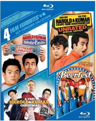 Guy Comedies Collection - 4 Film Favorites (4 Blu-rays)