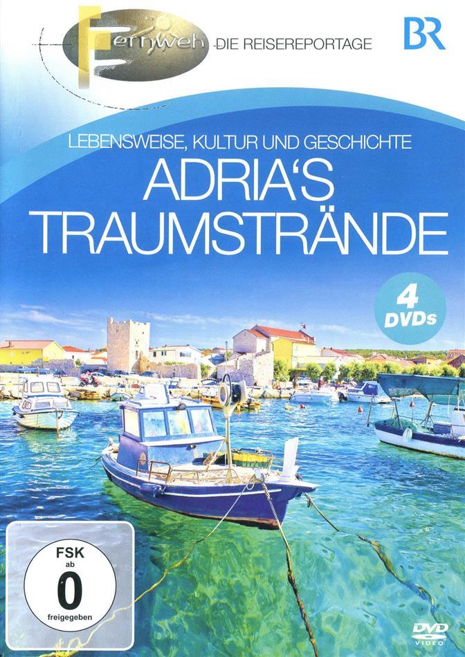 BR - Fernweh - Traumstrände der östlichen Adria (4 DVDs)