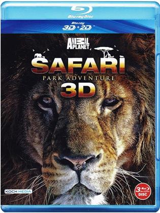 Safari Park Adventure (3 Blu-ray 3D (+2D))