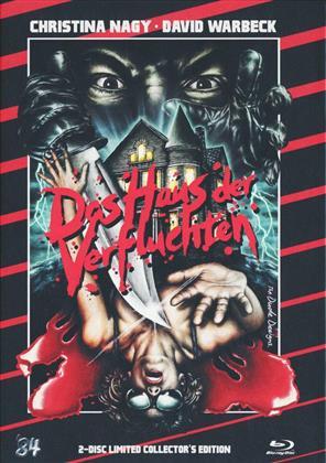 Das Haus der Verfluchten (1985) (Cover B, Limited Edition, Mediabook, Blu-ray + DVD)
