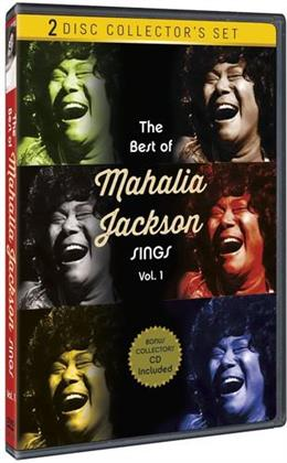 Mahalia Jackson - The Best of Mahalia Jackson Sings, Vol. 1 (s/w, DVD + CD)
