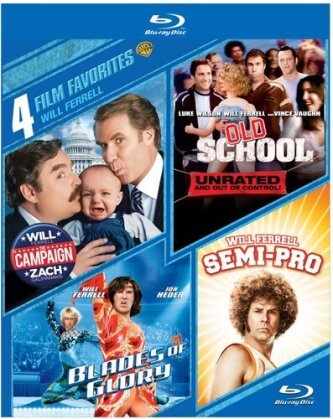 Will Ferrell - 4 Film Favorites (4 Blu-rays)
