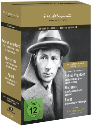 Die F.W. Murnau Box (Deluxe Edition, 3 DVDs)