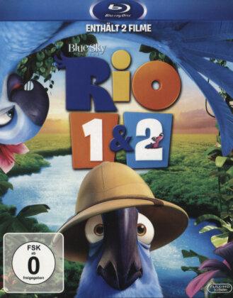 Rio (2011) / Rio 2 (2014) (2 Blu-rays)