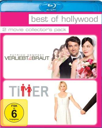 Verliebt in die Braut / Timer (Best of Hollywood, 2 Movie Collector's Pack)