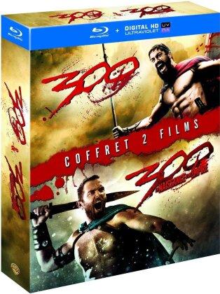 300 (2006) / 300 - La naissance d'un empire (2013) (2 Blu-rays)
