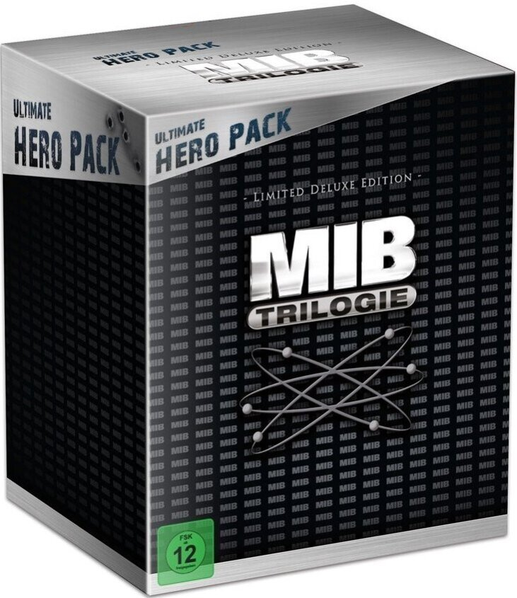Men in Black Trilogie - (Ultimate Hero Pack - Limited Deluxe Edition 4 Discs + Figur)