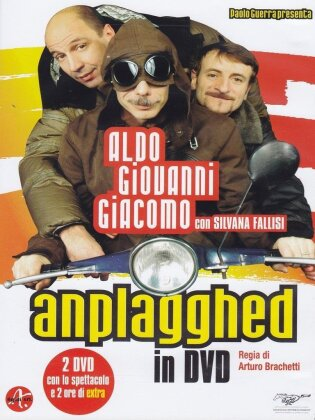 Aldo, Giovanni & Giacomo - Anplagghed in DVD (2007) (2 DVD)