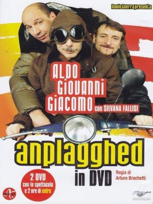 Aldo, Giovanni & Giacomo - Anplagghed in DVD (2007) (2 DVDs)