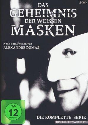 Das Geheimnis der weissen Masken - Die komplette Serie (2 DVD)
