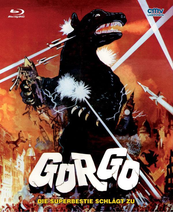 Gorgo - Die Superbestie schlägt zu (1961) (Cover A, Mediabook, Uncut)
