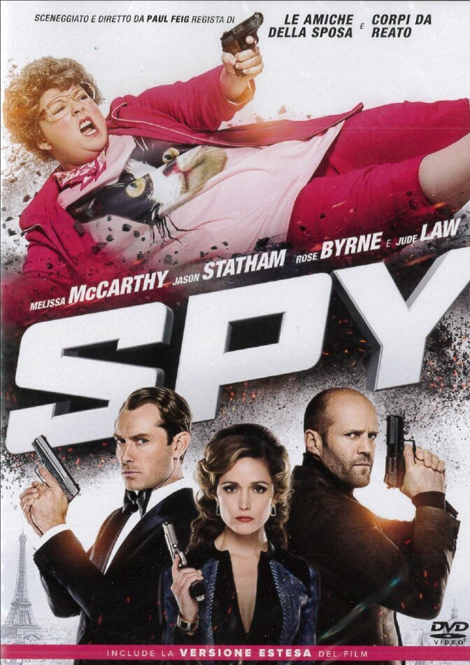 Spy (2015) (Extended Edition)