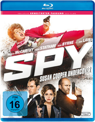 Spy - Susan Cooper Undercover (2015) (Extended Cut, Cinema Version)