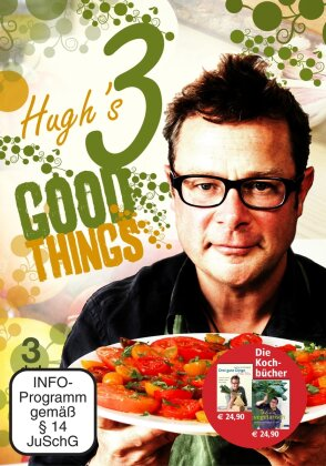 Hugh's Three Good Things (3 DVDs)