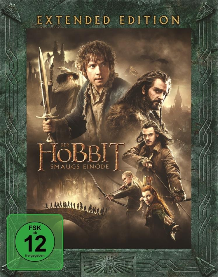 Der Hobbit 2 - Smaugs Einöde (2013) (Extended Edition, 3 Blu-ray)