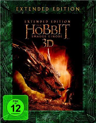 Der Hobbit 2 - Smaugs Einöde (2013) (Extended Edition, 5 Blu-ray 3D (+2D))