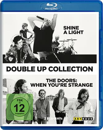 The Doors & The Rolling Stones - Shine a light / When you're strange (2 Blu-ray)