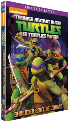 Teenage Mutant Ninja Turtles - Les Tortues Ninja - Saison 1 - Vol. 2 : Shredder sort de l'ombre (2012) (Collector's Edition)
